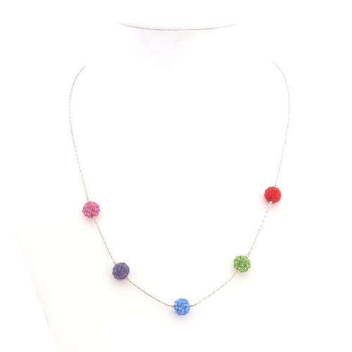 Bead Necklace - Mixed Colors