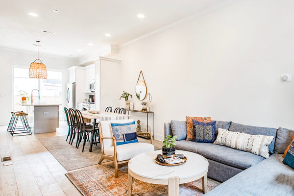 Philly Townhouse Living Room