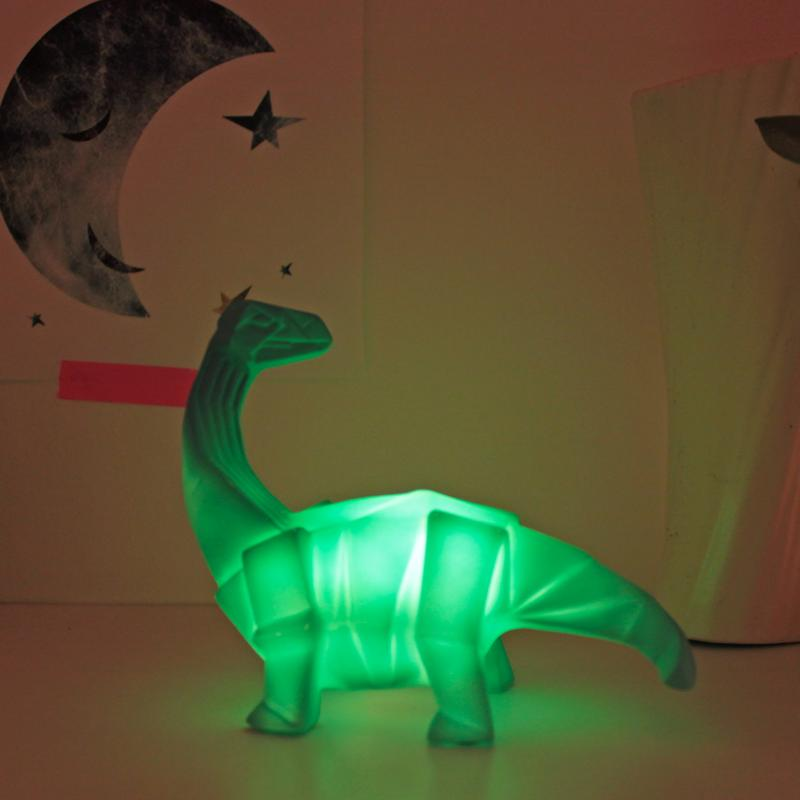 Origami Brachiosaurus Dinosaur Mini LED Light
