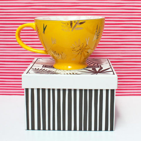 Heritage and Harlequin Tiger Print Cup