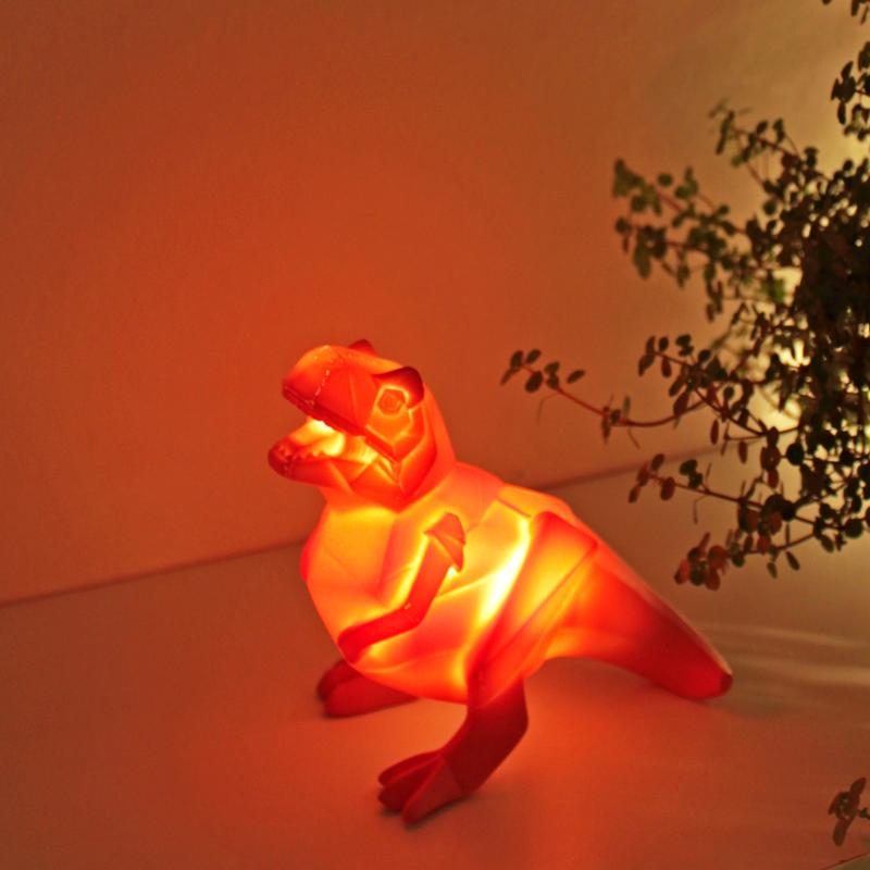 Origami T-Rex Dinosaur Mini LED Light