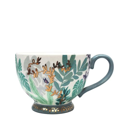 Boulevard Greenhouse Cat Teacup