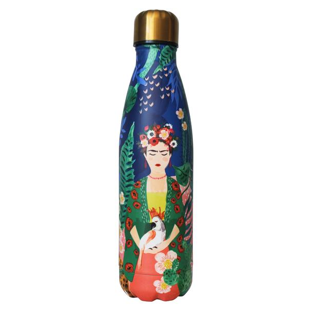 Frida Kahlo Tropical Stainless Steel Flask