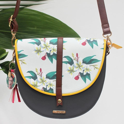 Frida Kahlo Tropical Faux Leather Bag