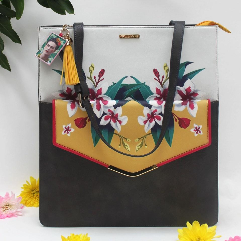 Frida Kahlo 2-in-1 Tote and Clutch Bag