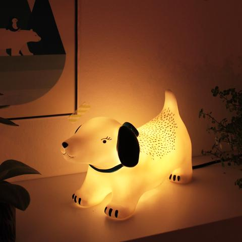 Over The Moon Hot Dog Table Lamp