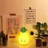 Yellow Cut Glass Effect Retro Pineapple Lamp