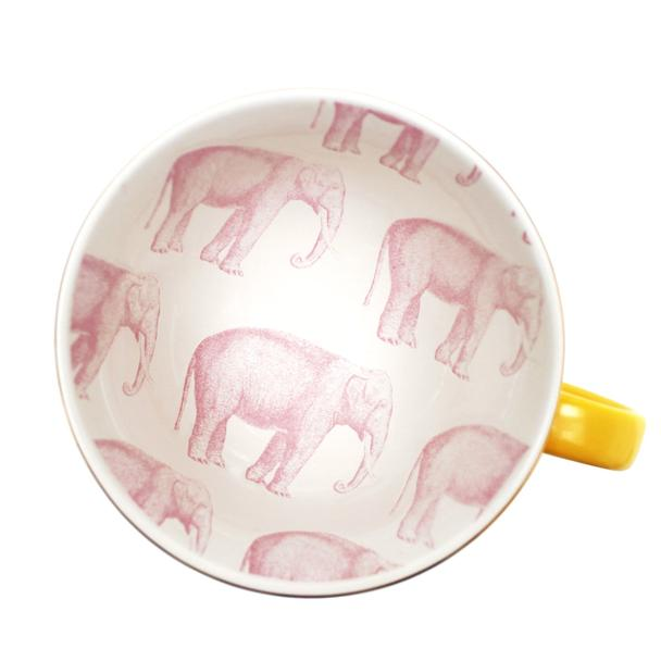 Heritage and Harlequin Elephant Print Cup
