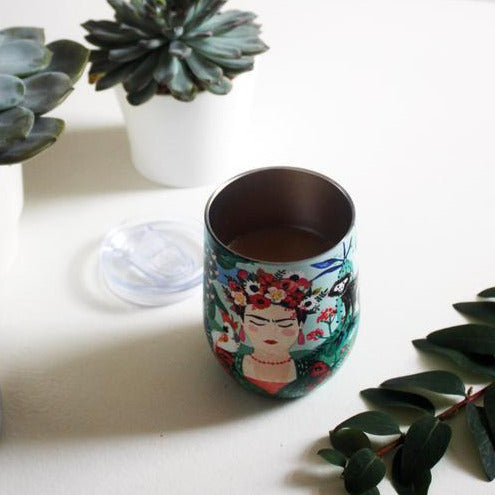 Frida Kahlo Stainless Steel Keep Cup