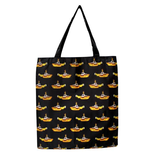The Beatles Yellow Submarine Foldaway Recycled Shopper