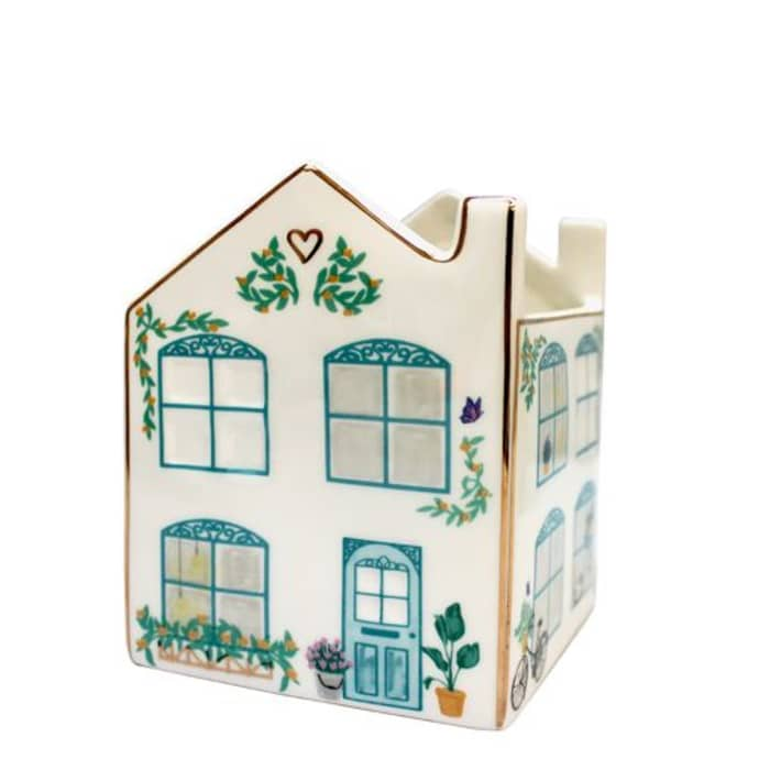 Ceramic House Planter with Gift Box