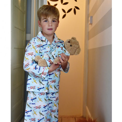 Children's Unicorn Print Cotton Pyjamas