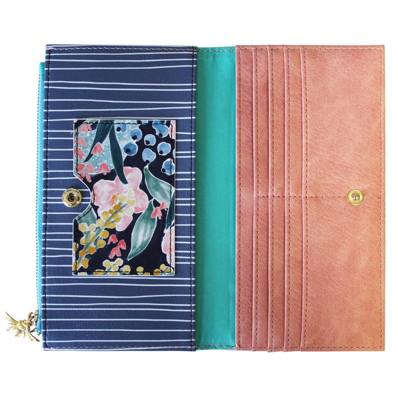 Ladies Faux Leather Garden of Eden Wallet