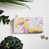 Frida Kahlo Mustard Yellow Faux Leather Wallet