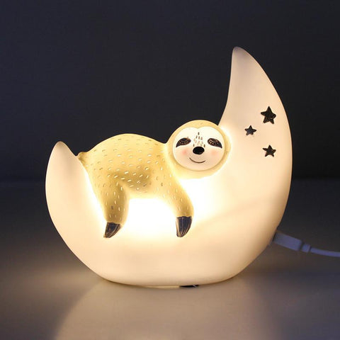 White Penguin Mini Lamp