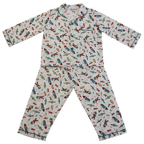 Children's Little Red Riding Hood Print Cotton Pyjamas
