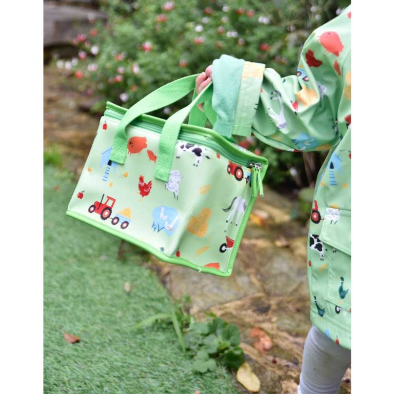 Farmyard Print Lunch Bag