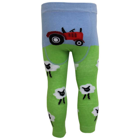 Farmyard Print Baby Grow