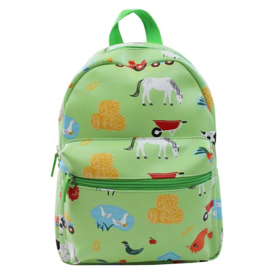 Farmyard Print Back Pack