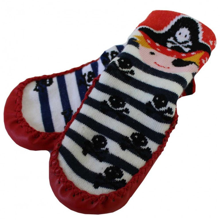 Pirate Moccasin Slippers
