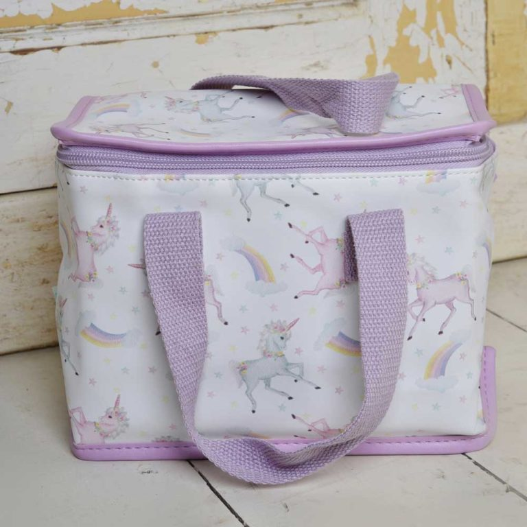 Unicorn Print Lunch Bag