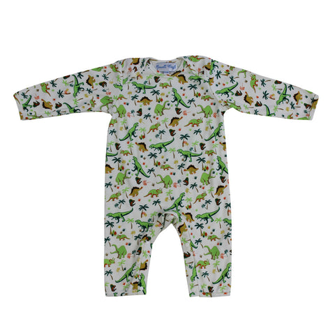 Mermaid Print Baby Jumpsuit