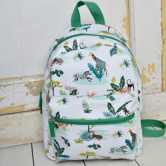 Safari Print Back Pack