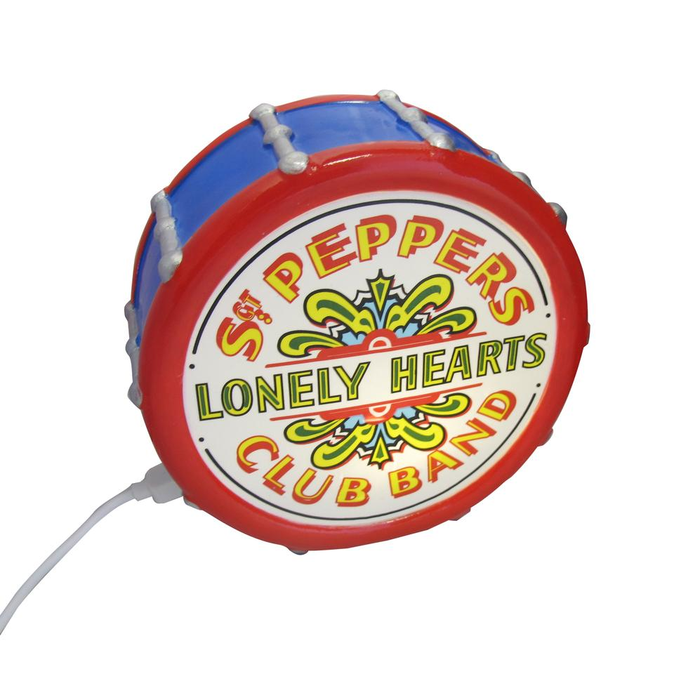 The Beatles Sgt Pepper's Lonely Hearts Club Band Drum Mini Lamp
