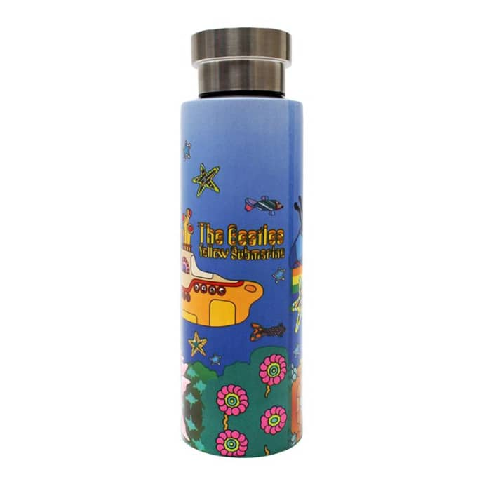 The Beatles Yellow Submarine Stainless Steel Flask