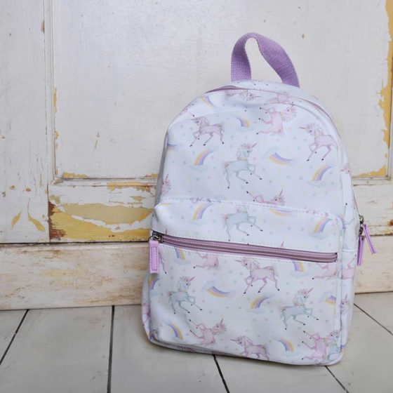 Unicorn Print Back Pack