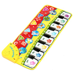 5 Modes Electronic Jump Dance Piano Keyboard Musical Touch Gyms 70 X 27 Play Mat Baby Kids Toy