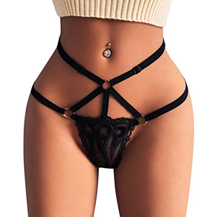 Women Lace Lingerie G-string Briefs Panties T string Thongs Knickers erotic underwear briefs for women panties for sex