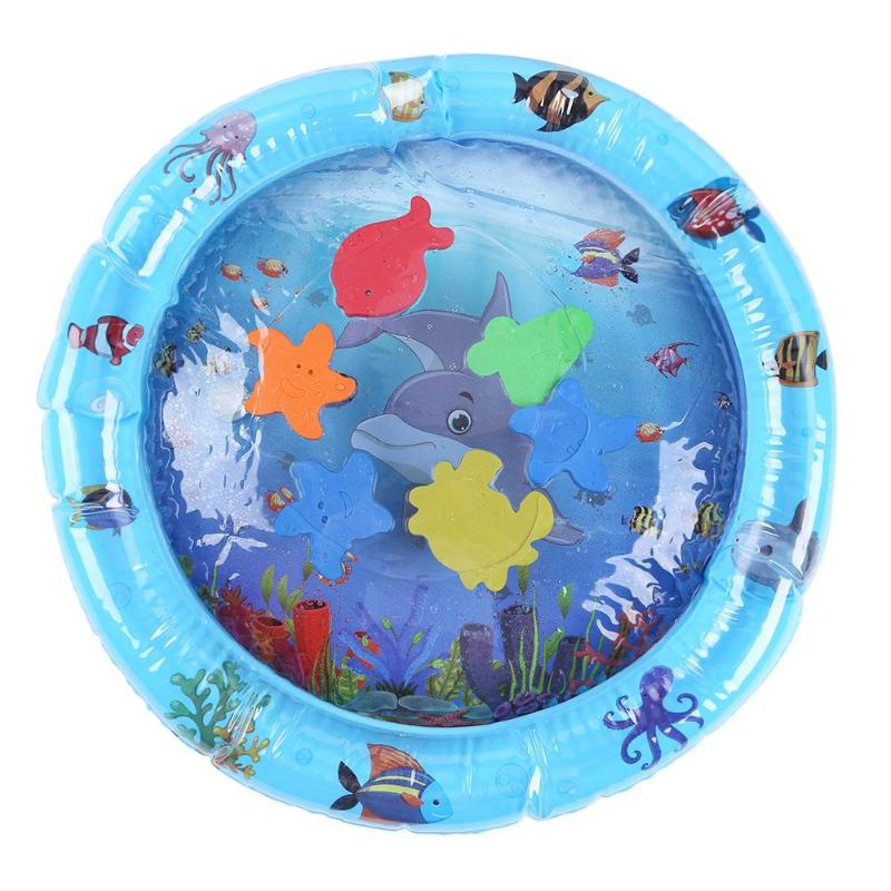 Baby Kids Water Play Mat Water cushion baby ice cushion big inflatable pat musicbaby water Thicken PVC Infant Gyms Playmats