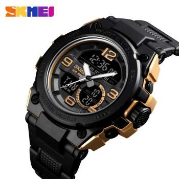 Luxury Sports Watch Men Analog Digital Military Silicone Sport LED Waterproof Wrist Watches Woche Men Relogio Masculino