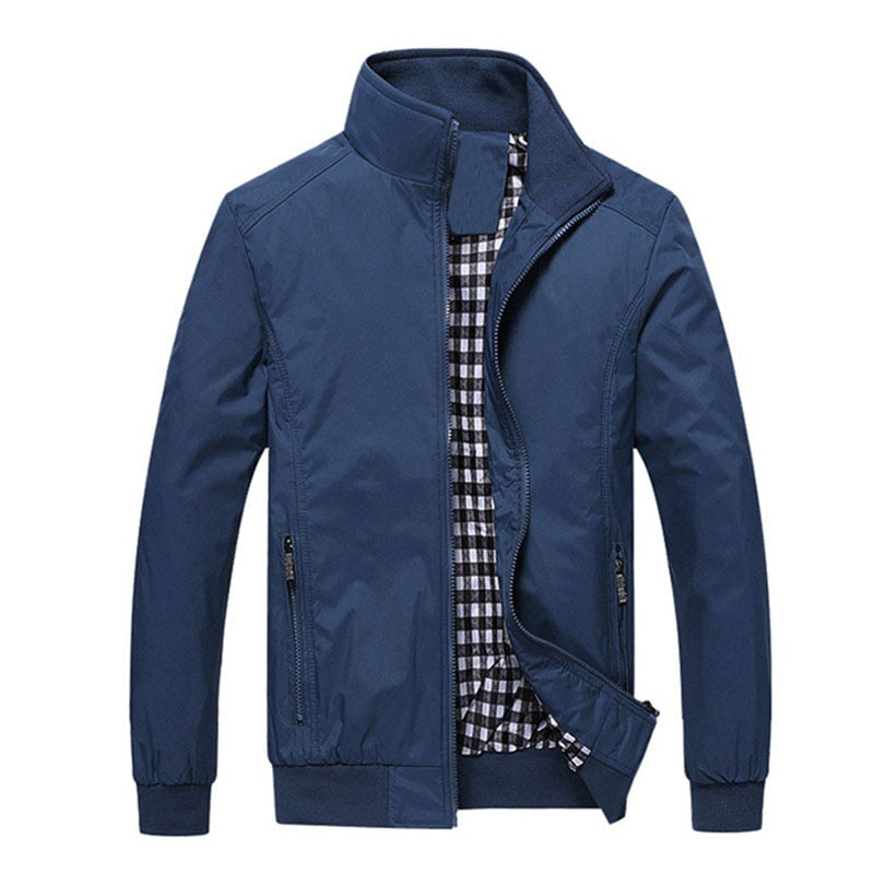 New 2018 Jacket Men Fashion Casual Loose  Mens Jacket Sportswear Bomber Jacket Mens jackets and Coats Plus Size M- 5XL