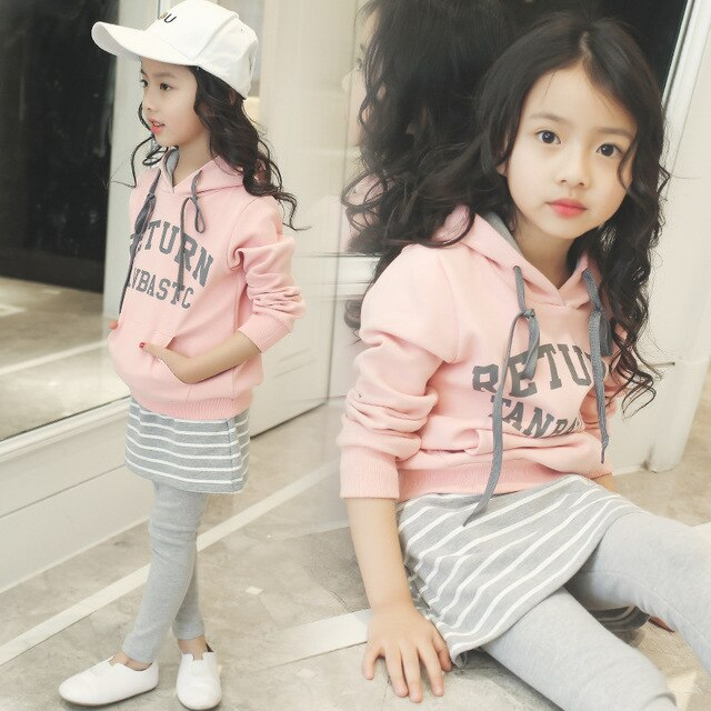 Children's Wear Korean Edition Girl Suit 2019 New Style