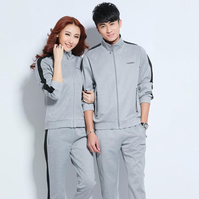 Sport Suit Women Men Running Set Mens Sports Suits Fitness Sport Wear Women Running Clothes for Men Sport Set Couples Sportswear