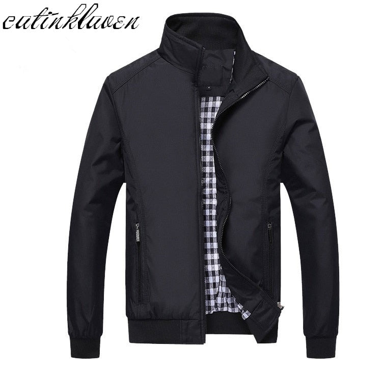 New 2017 Jacket Men Fashion Casual Loose Mens Jacket Sportswear Bomber Jacket Mens jackets men and Coats Plus Size M- 5XL