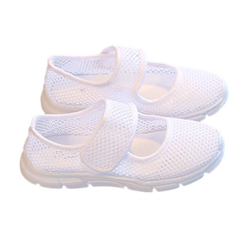 ABWE Best Sale a pair of Kids Breathable Mesh Childrens Shoes Single Net Cloth Sports Shoes Casual Boys Shoes Girls Sneakers(B
