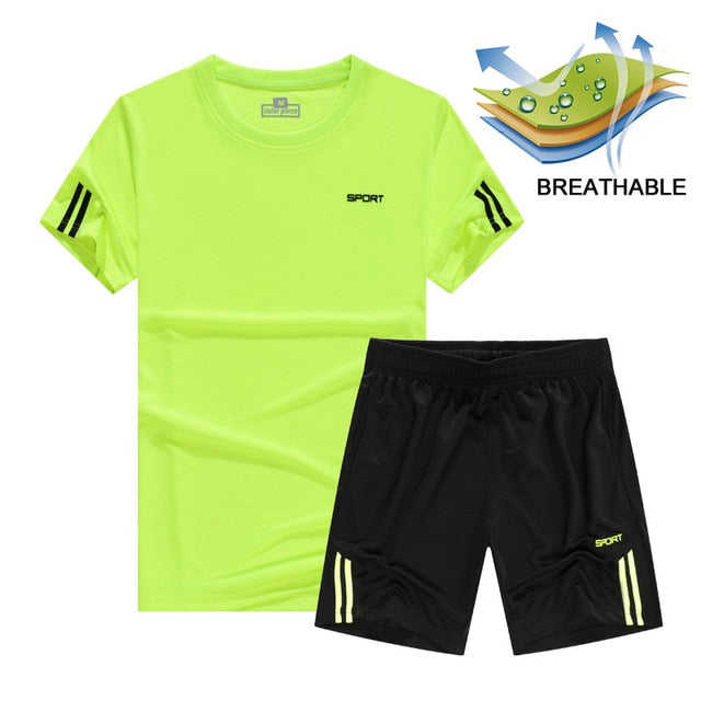 green-running-set