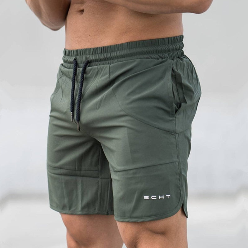 2018 New Men Gyms Fitness Loose Shorts Bodybuilding Joggers Summer Quick-dry Cool Short Pants Male Casual Beach Brand Sweatpants