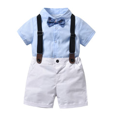 Childrens clothing Summer Toddler boy clothes T-shirt+Jeans