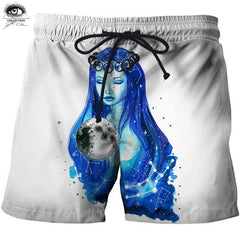 Flying Fish 3D Printed By Pixie Cold Art Beach Shorts Men Board Shorts Plage Male Quick Dry Shorts Swimwear Streetwear DropShip