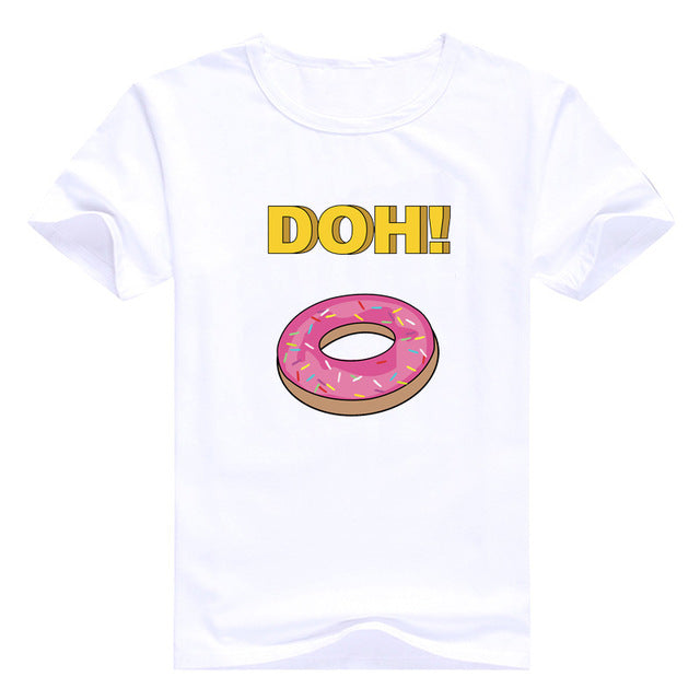Simpsons Captain America T-shirt Homer Simpson Tops Funny Anime Tee 2019 New Arrival Tshirt Men T Shirt Harajuku Clothes