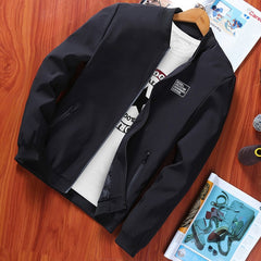 Men's coat Spring and autumn 2019 new Korean version hundred breathable on clothes trend slimming sports jacket thin MC329