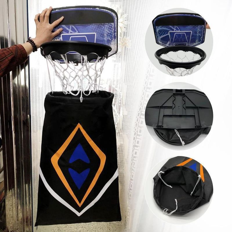 Multi-functional basketball rack