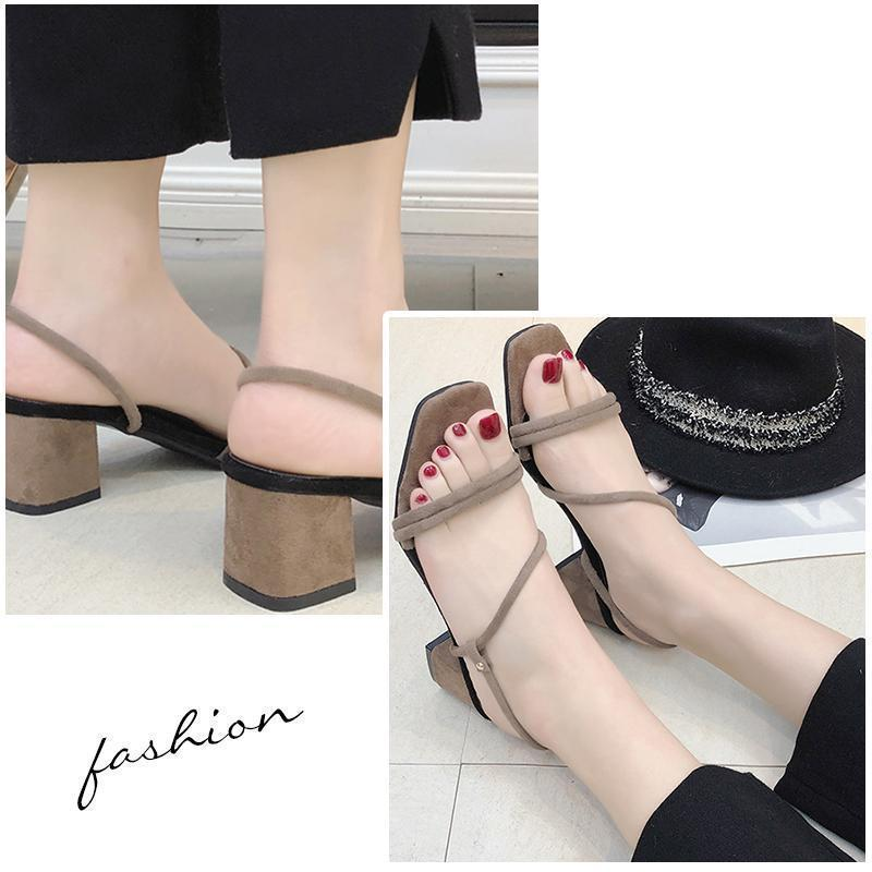 Women Suede Pumps Sandals Casual Shoes