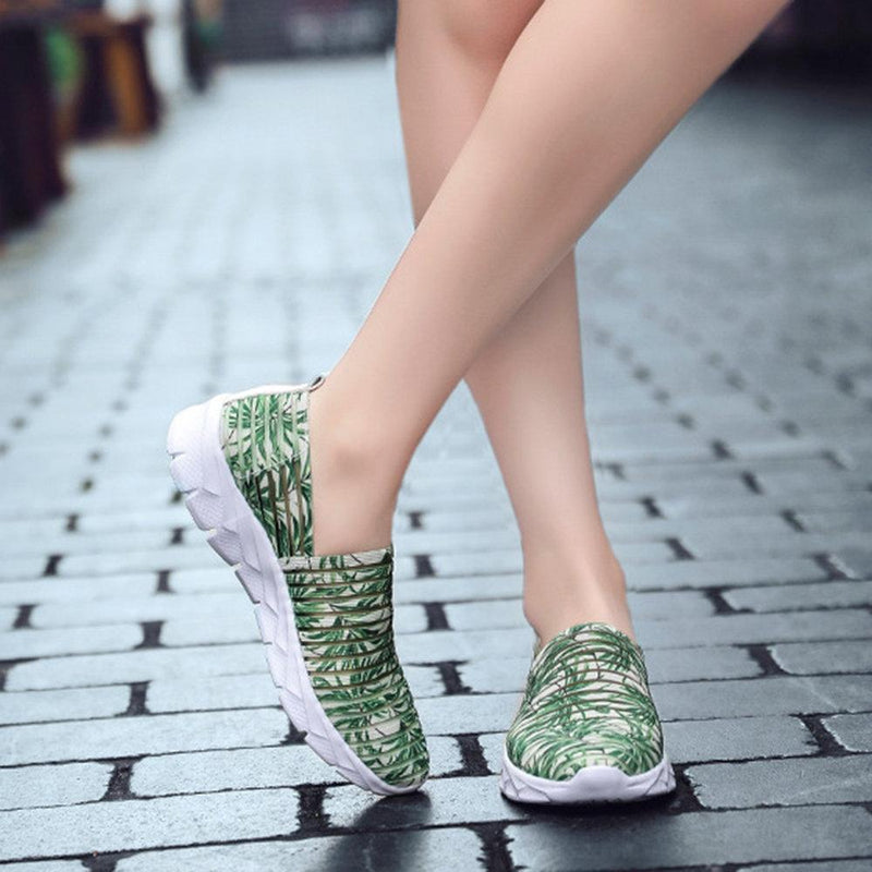 Breathable Hollow Mesh Sneakers