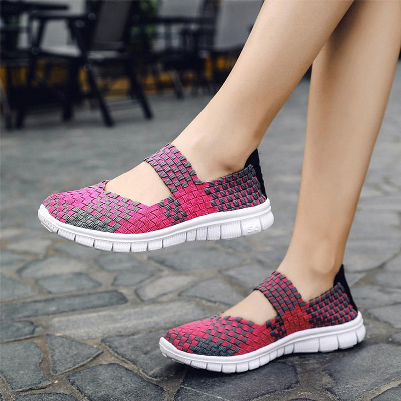 Breathable Nylon Woven Shoes