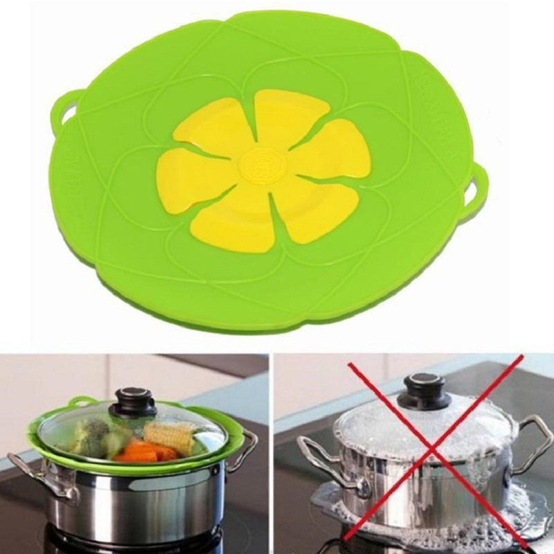 Flower Silicone Lid Spill Stopper